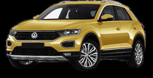 2. VW T-Roc mit 12 % mittl. Ersparnis zur UVP sichern